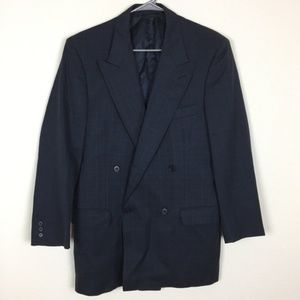 Jaeger Navy Blue Suit Jacket Blazer Size 42